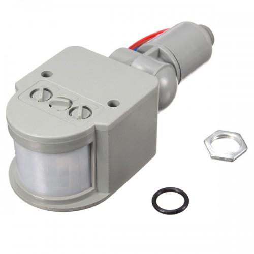 LED 110V-240V Infrared PIR Motion Sensor Detector Wall Light Switch 140Degree 12M Alex NLD