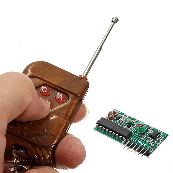5Pcs IC2272 315MHz 4 Channel Wireless RF Remote Control Transmitter Receiver Module