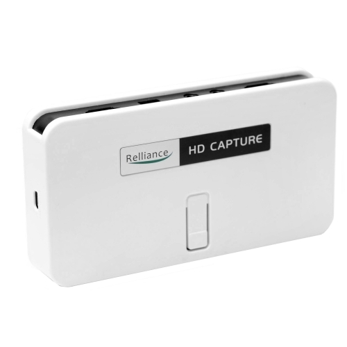 1080P HD Video Capture, HD Game Capture, HDMI Recorder For Xbox 360, Xbox  One, PS3, PS4, WIIU (White)