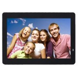 14 inch LED Display Multi-media Digital Photo Frame with Holder & Music & Movie Player, Support USB / SD / MS / MMC Card Input