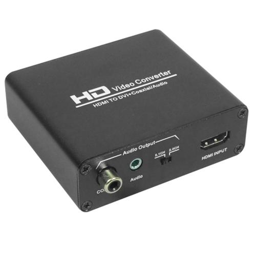 Hdv 339 Full Hd Hdmi To Dvi Digital Coax Analog Stereo
