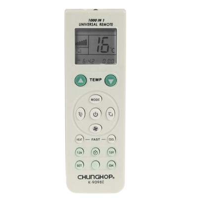 ... Chunghop Universal A/C Remote Control (K-9098E)