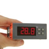 RC-110M Digital LCD Temperature Controller Thermocouple Thermostat Regulator with Sensor Termometer, Temperature Range: -40 to 110 Degrees Celsius