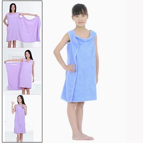 01fe8755ec Magic Towel Bath Towel Clothes Beach Towel Dress for Children, Size: 130 x  60cm