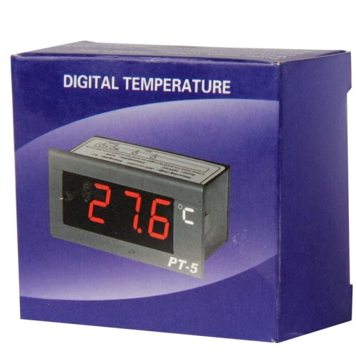 PT-5 Digital LCD Probe Fridge Freezer Thermometer Thermograph for Refrigerator, Temperature Ranger: -40 to 110 Degree Celsius