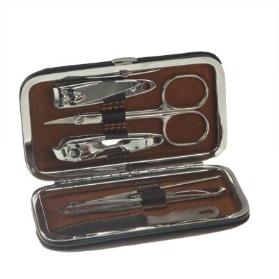 6 in 1 Nail Care Clipper Pedicure Manicure Kits  (Finger Nail Nipper, Scissor, Toe Nail Nipper, Nail File, Eyebrow Tweezers, Ear Pick)