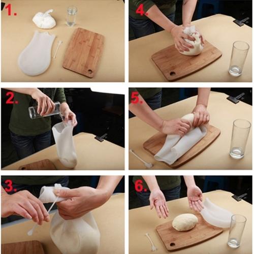 Silicone Kneading Dough Bag Dough Making Flour Mixer Maker Kitchen Tools for Pasta Flour Food