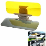 2 in 1 HD Car Anti-Glare Dazzling Goggle Day Night Vision Driving Mirror Sun Visors