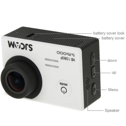 SJCAM SJ5000 Novatek Full HD 1080P 2.0 inch LCD Screen ...
