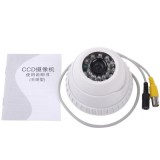 1 / 3 SONY 420TVL 3.6mm Lens IR & Waterproof Color Dome CCD Video Camera, IR Distance: 30m  (Size: 93 (L) x 93  (W) x 65 (H) mm)