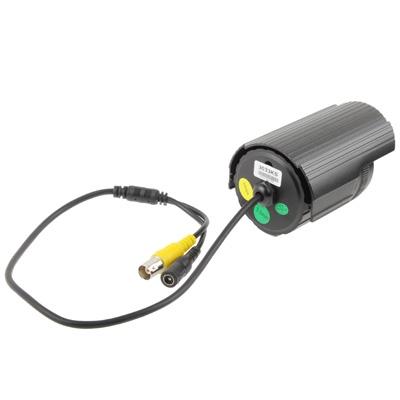 1 / 3 Sony 700TVL 3.6mm Lens IR & Waterproof Mini Color CCD Video Camera, IR Distance: 30m