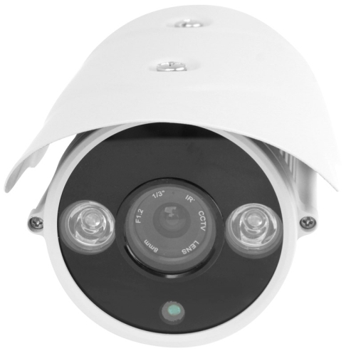 1 / 3 inch SONY 650TVL 8mm Fixed Lens Array LED & Waterproof Color Box CCD Video Camera, IR Distance: 30m