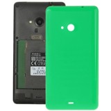 ... Smooth Surface Plastic Back Housing Cover Replacement for Microsoft Lumia 535 (Green)