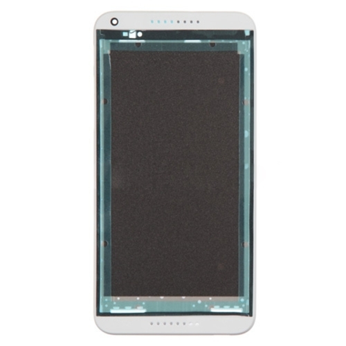 Front Housing LCD Frame Bezel Plate Replacement for HTC Desire 816 (White)