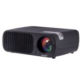 Uhappy U20 2600LM 1080P Home Theater 800*480 Mini Projector with Remote Control, Support HDMI + YPbPr + TV or DTV + AV + VGA (Black)