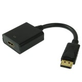 Display Port Male to HDMI Female Adapter Cable, Length: 20cm