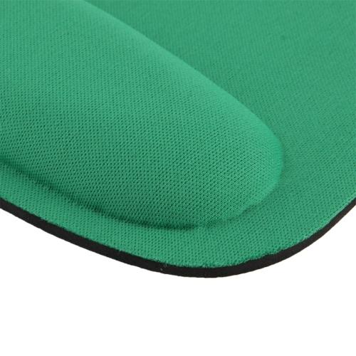 Cloth Gel Wrist Rest Mouse Pad Green Alexnld Com