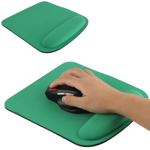 Cloth Gel Wrist Rest Mouse Pad Green Alexnld Com