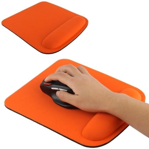 Cloth Gel Wrist Rest Mouse Pad Orange Alex Nld