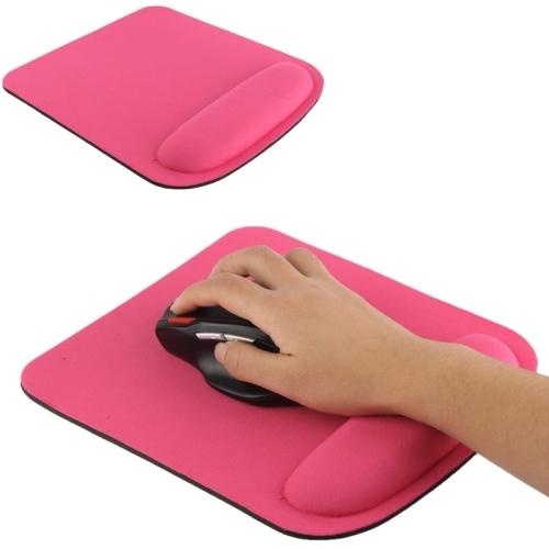 Cloth Gel Wrist Rest Mouse Pad Magenta Alexnld Com