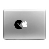 Hat-Prince Eat Apple Pattern Removable Decorative Skin Sticker for MacBook Air / Pro / Pro with Retina Display, Size: S