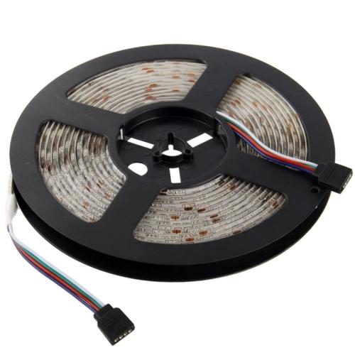 Good Quality Epoxy Waterproof RGB LED 5050 SMD Rope Light, 60 LED/M, Length: 5m