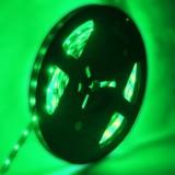 4.8W Green Bare Board LED 3528 SMD Rope Light, 60 LED/M, Length: 5M