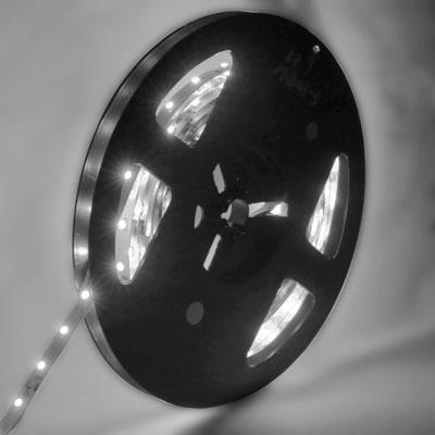 4.8W White Bare Board LED 3528 SMD Rope Light, 60 LED/M, Length: 5M