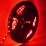 4.8W Red Bare Board LED 3528 SMD Rope Light, 60 LED/M, Length: 5M