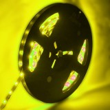4.8W Yellow Bare Board LED 3528 SMD Rope Light, 60 LED/M, Length: 5M