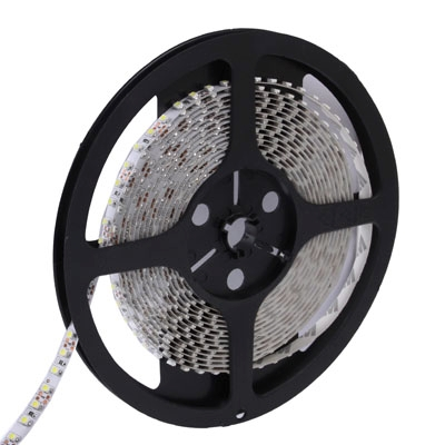 Bare Board White LED 3528 SMD Rope Light, 120 LED/M, Length: 5M