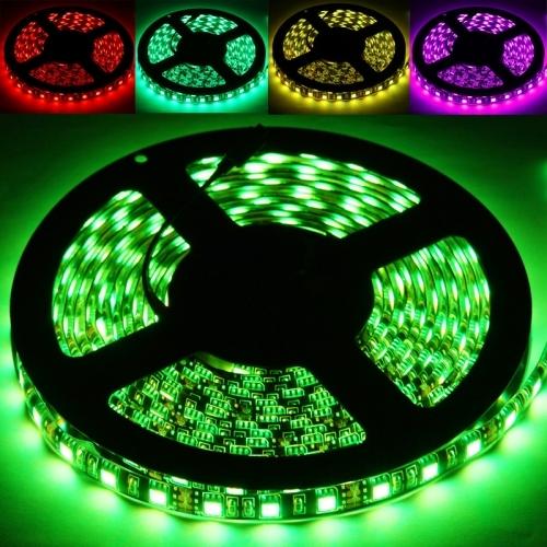 Epoxy Waterproof RGB LED 5050 SMD Rope Light, 60 LED/M, Length: 5M