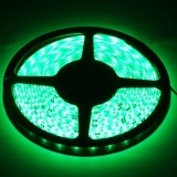 Epoxy Waterproof Green LED 3528 SMD Rope Light, 60 LED/M, Length: 5M