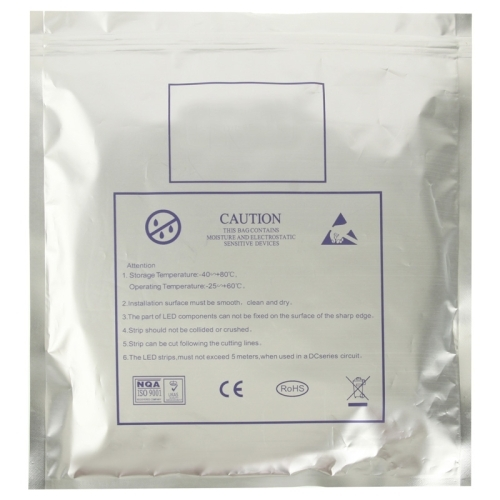 Epoxy Waterproof Warm White LED 3528 SMD Rope Light, 60 LED/M, Length: 5M