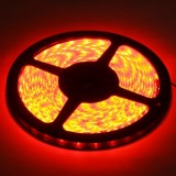 Epoxy Waterproof Red LED 3528 SMD Rope Light, 60 LED/M, Length: 5M