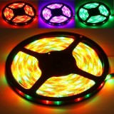 Epoxy Waterproof RGB LED 3528 SMD Rope Light , 60 LED/M, Length: 5M