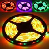 Epoxy Waterproof RGB LED 3528 SMD Rope Light , 60 LED/M, Length: 5M