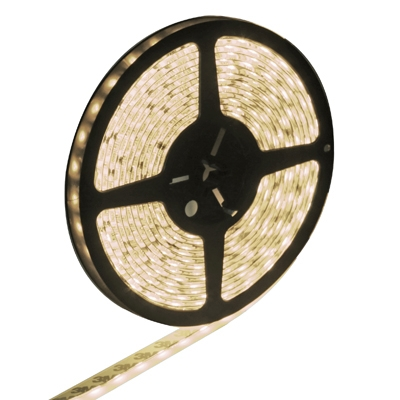 Epoxy Waterproof Warm White LED 5050 SMD Rope Light, 60 LED/M, Length: 5M