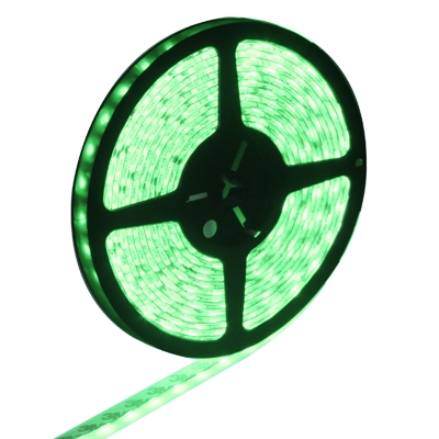 Epoxy Waterproof Green LED 5050 SMD Rope Light, 60 LED/M, Length: 5M