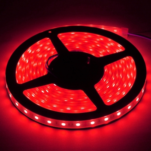 Casing Waterproof Red LED 5050 SMD Rope Light, 60 LED/M, Length: 5M
