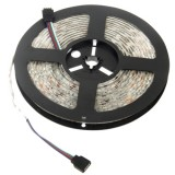 5050 SMD Waterproof RGB LED Strip with 44 Keys RGB LED Light Controller, 300 LED and Length: 5m