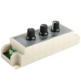3 Channel RGB LED Dimmer Controller for LED Light Strip DC12-24V, Output Current: 3A
