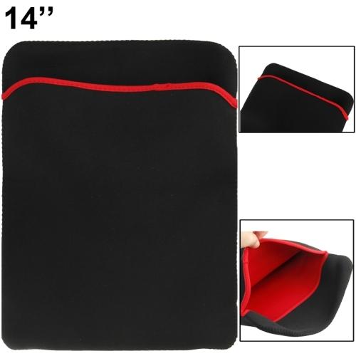 Soft Sleeve Case Bag for 14 inch Laptop (Black)