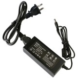 US Plug 12V 5A 60W AC Power Supply Unit with 5.5mm DC Plug for LCD Monitors Cord, Output Tips: 5.5×2.5mm