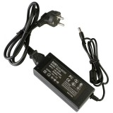EU Plug 12V 5A 60W AC Power Supply Unit with 5.5mm DC Plug for LCD Monitors Cord, Output Tips: 5.5×2.5mm