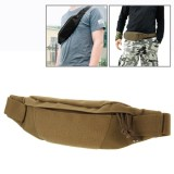 Multifunctional Outdoor Sports Running Waist Pack for Men As Fanny Pack Bum Bag Hip Money Belt (Brown)