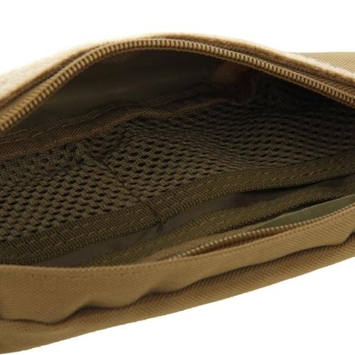 Multifunctional Outdoor Sports Running Waist Pack for Men As Fanny Pack Bum Bag Hip Money Belt (Brown)