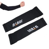 Bicycle Arm Warmers UV Sun Protection Cuff Sleeve Cover, Size: XXL, Black  , Pack of 2 (Black)