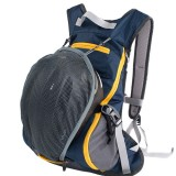 Bicycle Backpack Riding Traveling Sports Mountaineering Double Shoulders Backpack Bag (Dark Blue)