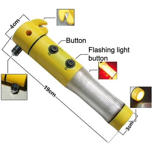 Flashlight That Can Break A Car Window